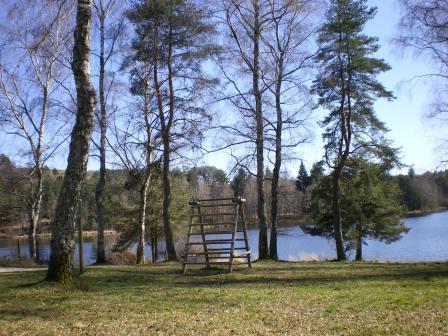 Parcours de santé autour du lac de Miel