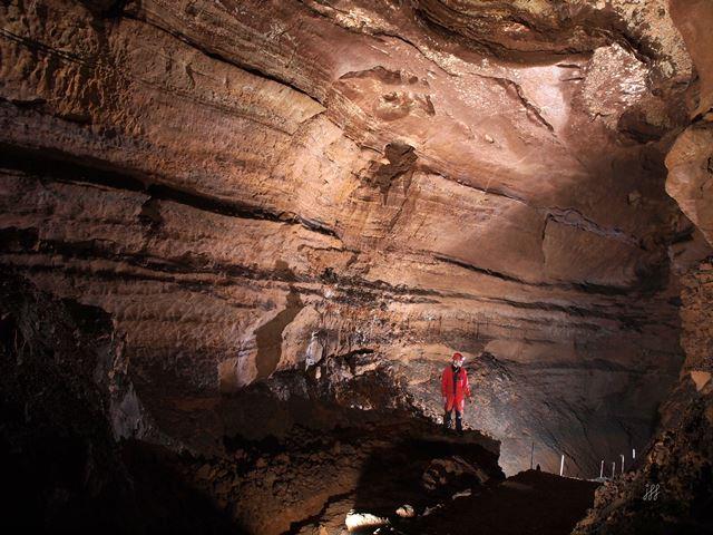 Spéléo aux grottes de Lacave