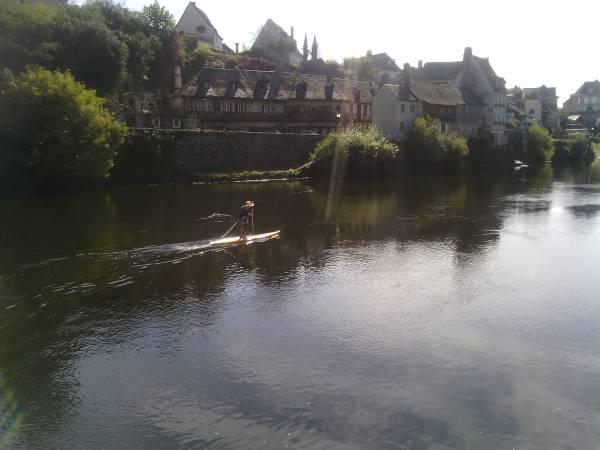 Kayak sur la Dordogne