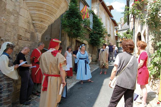 Fete medievale de Turenne en Correze