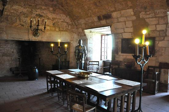 Visite du chateau de Turenne