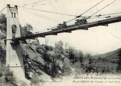 Essai du viaduc, le 8 mai 1913
