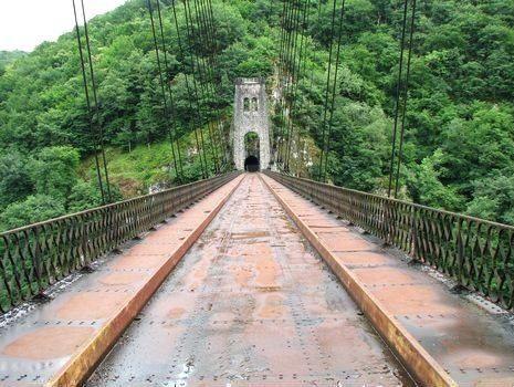 Le Viaduc du Rocher Noir, entre Lapleau et Soursac