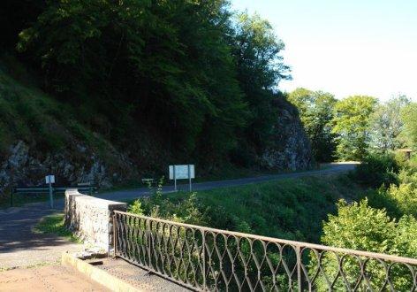 Ancien tracé du tramway côté Lapleau